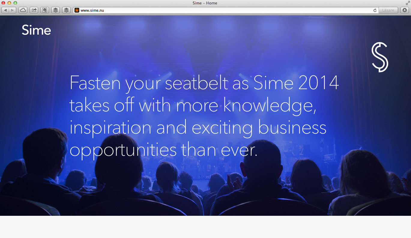 SIME website