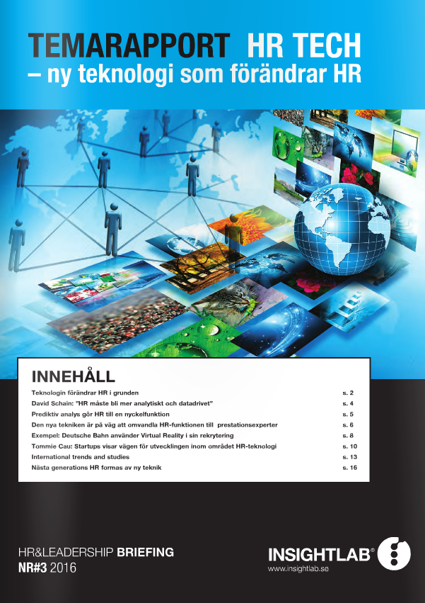 Temarapport HR tech Insight Lab framsida